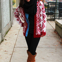 Winter Wonderland Cardi