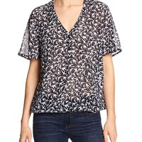 Banana Republic Womens Factory Print Dolman Vee