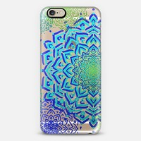 Boho Medallions Ocean (Transparent) iPhone 6 case by Lisa Argyropoulos | Casetify