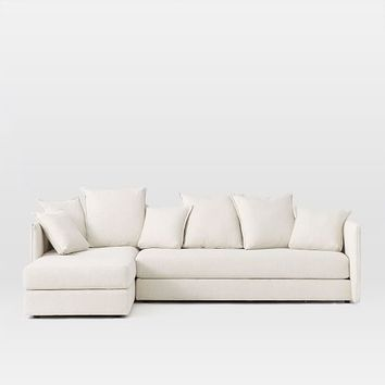 Serene 3-Piece Chaise Sectional