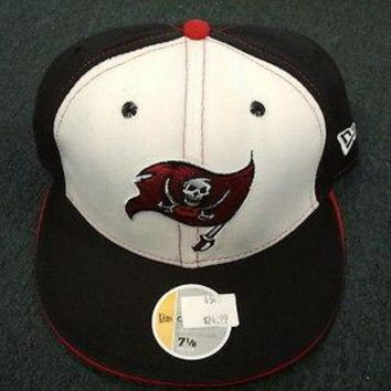 TAMPA BAY BUCCANEERS RETRO NEW ERA OFFICIALLY LICENSED 59FIFTY FITTED HATS