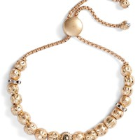 Treasure & Bond Hammered Sphere Charm Adjustable Bracelet | Nordstrom