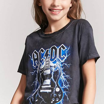 Girls ACDC Graphic Tee (Kids)