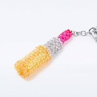 House of Holland Lipstick Charm Key Ring - Urban Outfitters