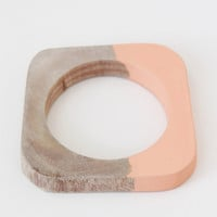 Cold Picnic Dipped Bangle - Salmon « Pour Porter