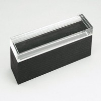 Boom Design Jewel Box in Wenge with Lucite Pano - 1248-31