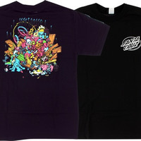 Santa Cruz Grosso Toy Box Tee Small Black