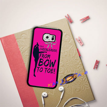 bow to toe cheer Samsung Galaxy S6 Edge Case Planetscase.com