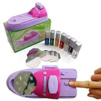 FDL DIY Printing Nail Art Stamper Kit Printer Machine