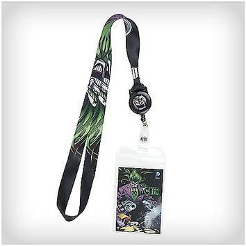 Joker Retractable Lanyard - Spencer's