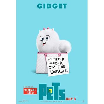 The Secret Life of Pets (2016) 11x17 Movie Poster