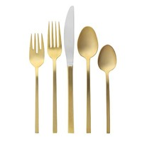 Gold Flatware, 1 Place Setting