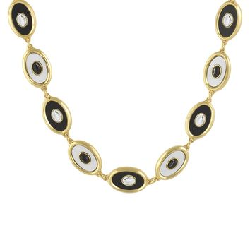 House of Harlow 1960 Jewelry Del Sol Reversible Station Necklace