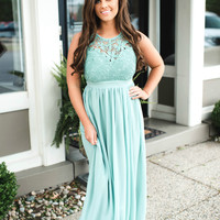 Like A Dream Dress (mint)-FINAL SALE