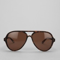 Rubberized Aviator Sunglasses - Urban Outfitters