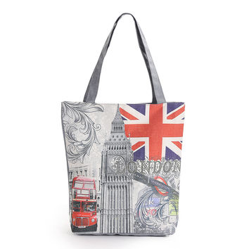 London Themed Handbag