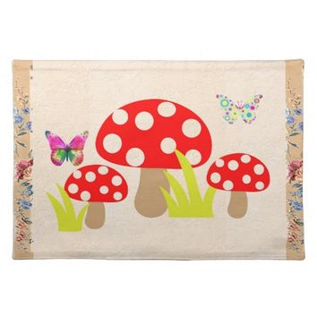 Mushrooms Placemat