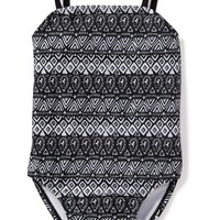 Printed Bow-Back Swimsuit for Toddler Girls   Old Navy