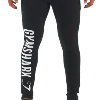 Gymshark Imprint Bottoms - Black/White - Bottoms - Mens
