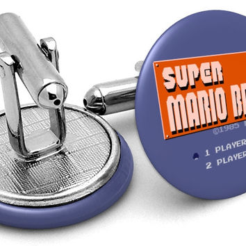 Super Mario Bros Cufflinks