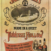 Jack Daniels Tennessee Whiskey Distillery Poster 24x36