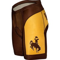 Wyoming Cowboys NCAA Flat Seam Cycling Shorts (XX-Large)