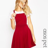 ASOS PETITE Pinafore Dress at asos.com