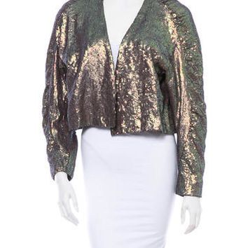 Dries Van Noten Sequin Jacket