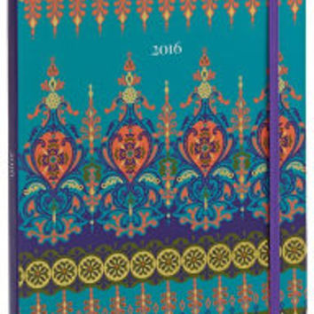 2016 Weekly Planner 7x9 Moroccan Borders Flexi Engagement Calendar