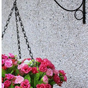Wall Hanging Bracket Plant Hook for Patio