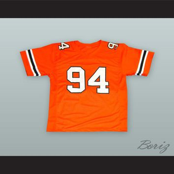 Dwayne Johnson 94 College Career Orange Football Jersey