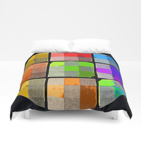 Tender Buttons Duvet Cover by anipani