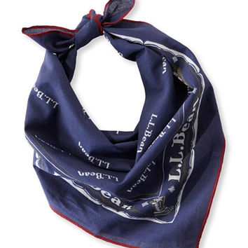 Women's Signature Heritage Bandana Scarf | Free Shipping at L.L.Bean.