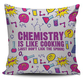 Chemistry Cooking Pillow Cover