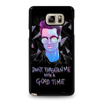 PANIC AT THE DISCO BRENDON URIE Samsung Galaxy Note 5 Case