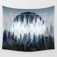 Woods 4 Wall Tapestry by Mareike Böhmer Graphics