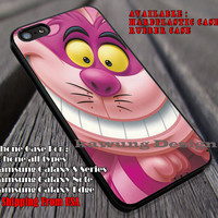 Purple Cat Funny, Chesire, Alice In Wonderland, Mad Hater, White Rabbit, case/cover for iPhone 4/4s/5/5c/6/6+/6s/6s+ Samsung Galaxy S4/S5/S6/Edge/Edge+ NOTE 3/4/5 #cartoon #anime #alice ii