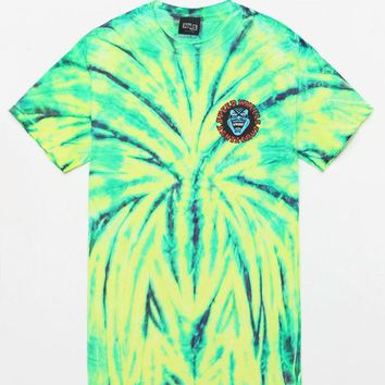 CREYON Santa Cruz Screaming Hand Tie-Dye T-Shirt