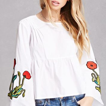 Floral Patch Billowy Top