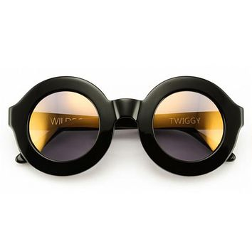 Wildfox - Twiggy Deluxe Black Sunglasses