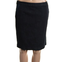 Tommy Hilfiger Womens Casual Knee-Length Straight Skirt