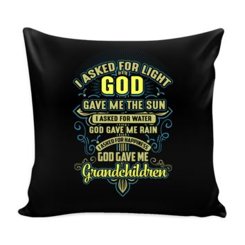 "Grandma Pillow Case 16"" inch x 16"" inch"
