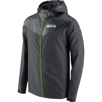 Seattle Seahawks Nike Sweatless Jacket – Charcoal