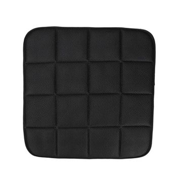 3 Colors 1 pc Breathable Mesh car seat pad Bamboo Charcoal Breathable Car Seat Cushion Pad Chair Mat 42cm*42cm