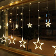 Bulbs Globes Balls Five-pointed star Fairy String Lights LED Lamps Christmas Party Decor