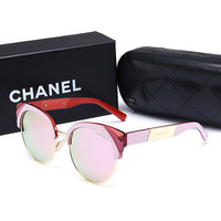 CHANEL Personality Fashion Popular Sun Shades Eyeglasses Glasses Sunglasses H-A50-AJYJGYS
