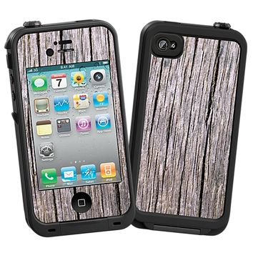 Weathered Cambera Skin for the iPhone 4/4S Lifeproof Case by skinzy.com