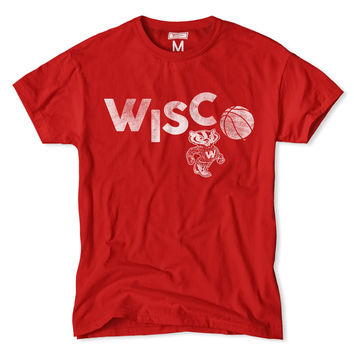 Wisconsin Wisco Basketball T-Shirt