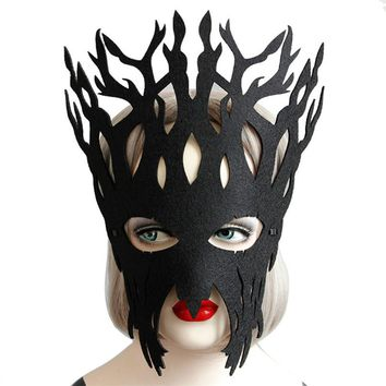 Mask Halloween Party Halloween Masks Adult Sexy Elegant Eye Face Mask Masquerade Ball Masks Carnival Party Accessories AU23#F
