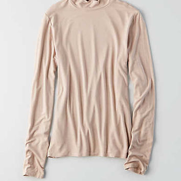 AEO Soft & Sexy Turtleneck , Light Pink